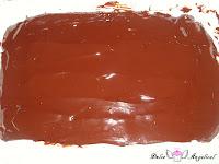 Cobertura de chocolate añadida
