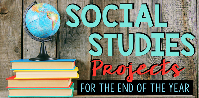 Fun and engaging social studies projects to use throughout the school year. Perfect for upper grade students in 3rd, 4th, or 5th grade!!