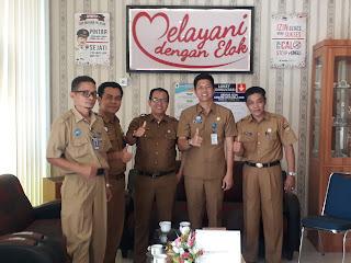 Kabupaten Kampar Belajar Ke DPMPTP Padang Pariaman