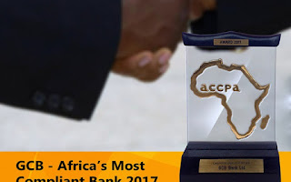 GCB wins Africa's Most Compliant bank award