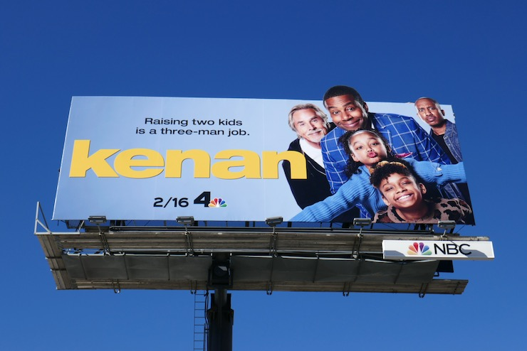 Kenan series premiere billboard