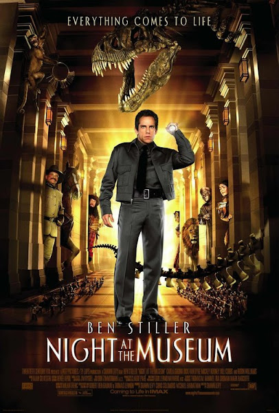 Poster of Night at the Museum (2006) Dual Audio [Hindi-DD5.1] 720p BluRay ESubs Download