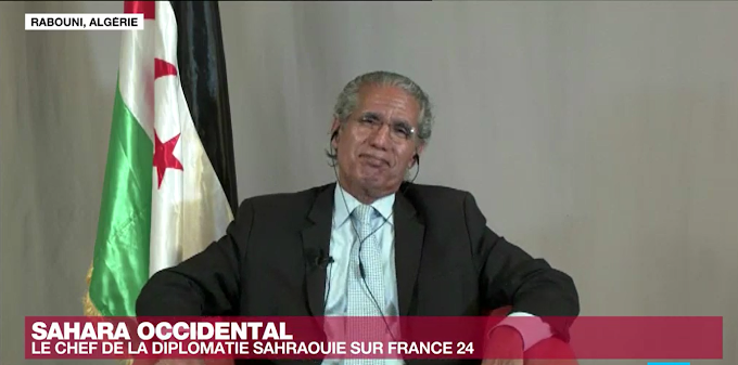 🔴 Mohamed Salem Salek, jefe de la diplomacia saharaui: ''Hay una guerra con Marruecos''