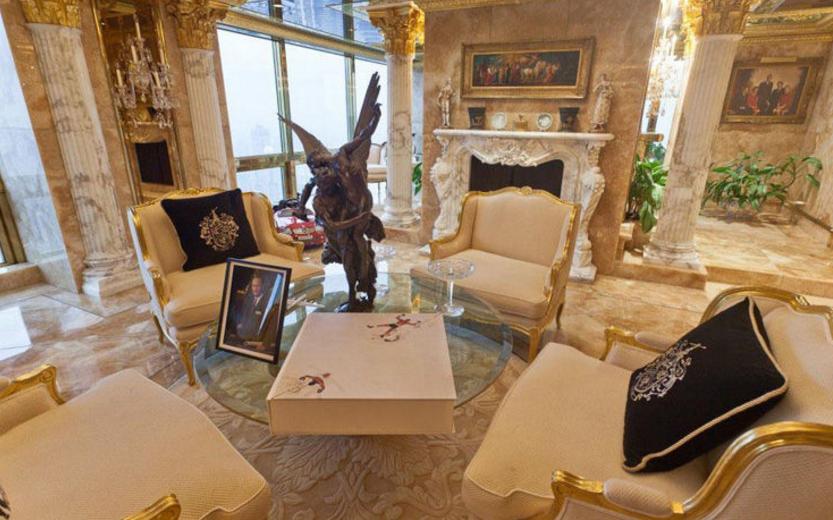 polverini lampadari : Trump lascia il lusso del suo palazzo per la sobriet? della Casa ...