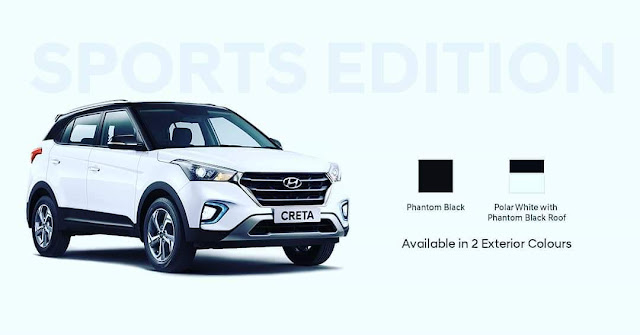 Hyundai Creta Sports Edition launched in India, priced from Rs 12.78 lakh