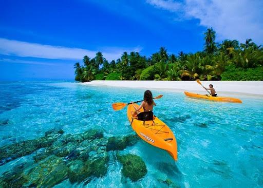 bơi thuyền Phú quốc