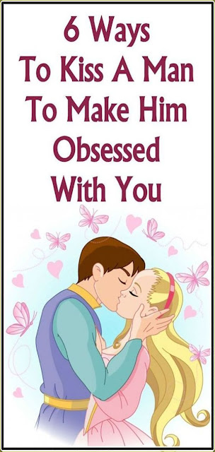 6 Ways To Kiss A Man To Make Him Obsessed With You