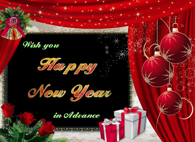 advance happy new year hd images