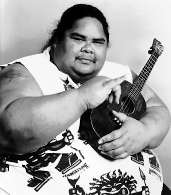 image result for Israel Kamakawiwo'ole facts,funeral,cause of death,wife,daughter and biography