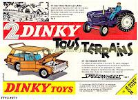 Publicité Dinky Toys 1971
