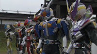 The many forms of Kamen Rider Den-O