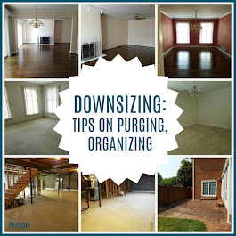 Downsizing: Tips on Purging, Organizing