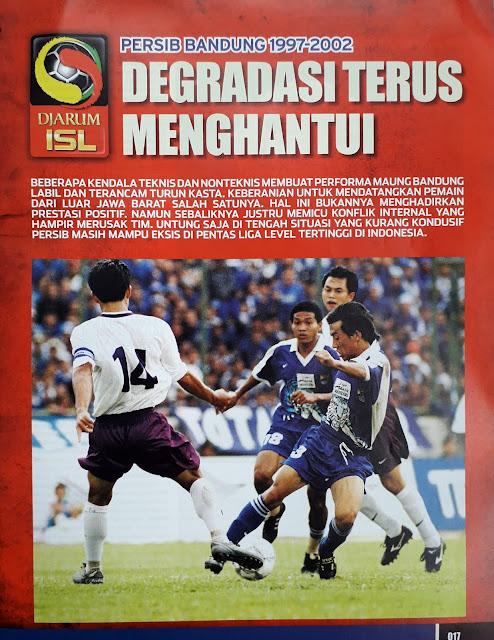 PERSIB BANDUNG 1997-2002 DEGRADASI TERUS MENGHANTUI