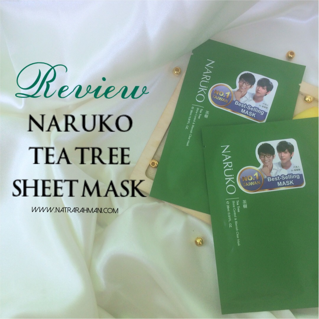 review-naruko-sheet-mask-tea-tree-natrarahmani