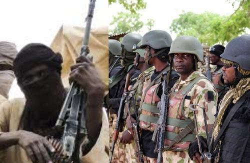 Troops intercept Bandits heading to Ibadan with Military Kits
