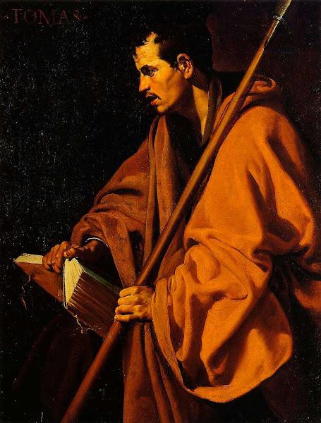 Диего Веласкес - Святой Томас (1620)