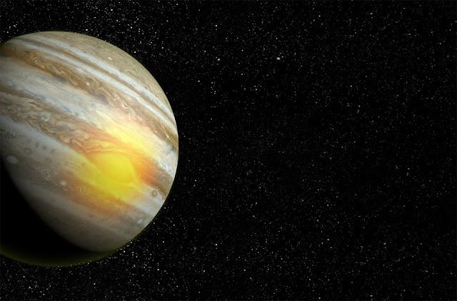 Grande Mancha Vermelha de Júpiter - fonte de calor