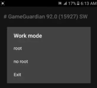 GameGuardian work mode