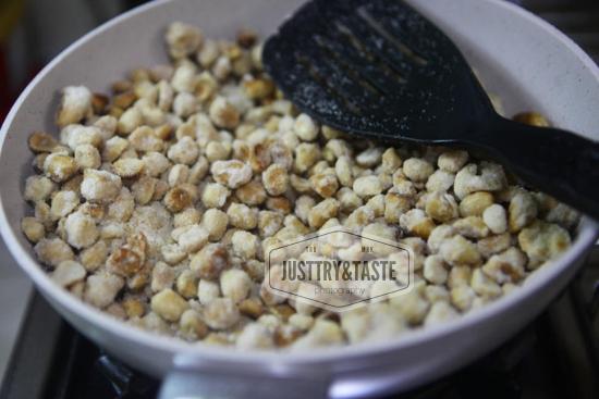Resep Kacang Karamel Pedas JTT
