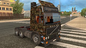 Army Volvo F10 skin