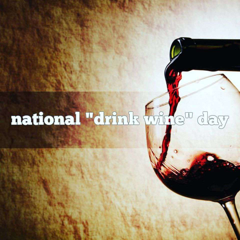 National Drink Wine Day Wishes Unique Image