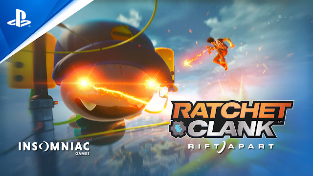 sunset overdrive easter egg ratchet & clank: rift apart playstation 5-exclusive third-person shooter platform game insomniac games sony interactive entertainment