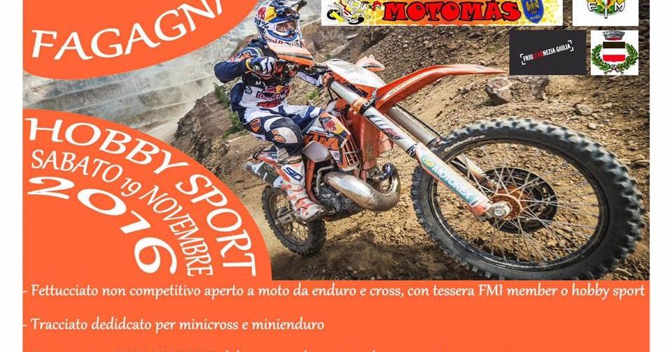 Fagagna 19 novembre hobby sport mc motomas 20 novembre regolarita' d'epoca mmvv