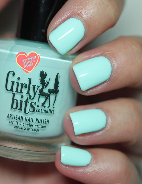 Girly Bits Let Love Grow swatch by Streets Ahead Style