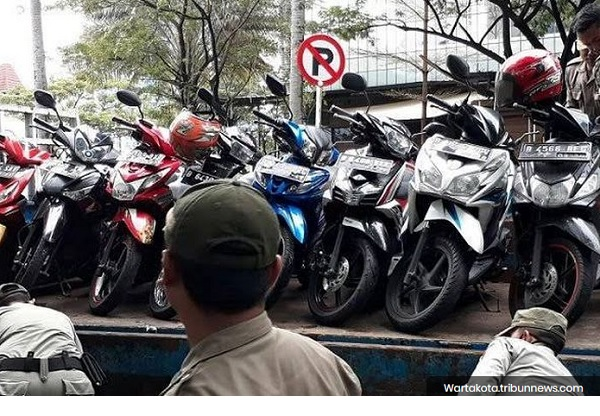 Parkir Liar di Tangerang Mulai dibenahi