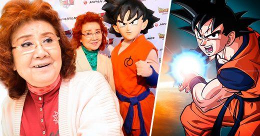 Ella cumplió 80 años y sigue siendo la voz de Goku