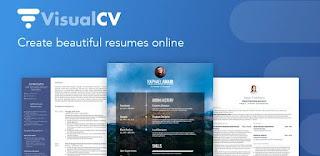 aplikasi pembuat CV Resume builder