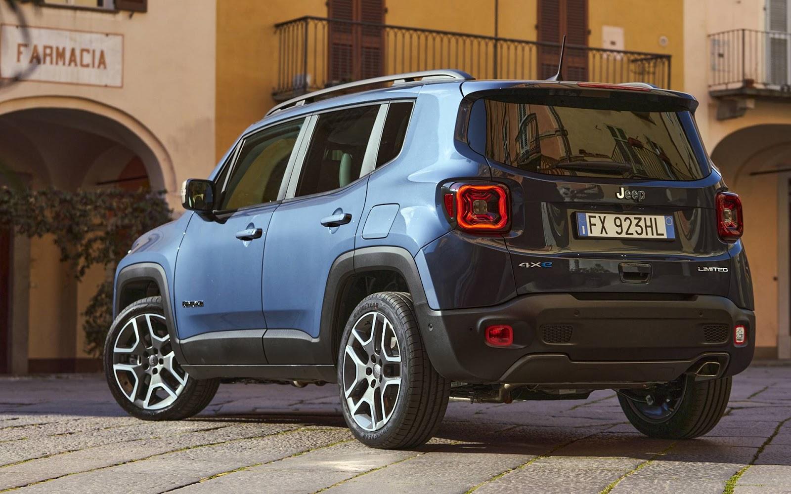 Jeep Renegade 4xe Plug In Hybrid Chega Ao Brasil Em 2021 Car Blog Br