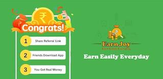 Earn Joy App Refer Earn