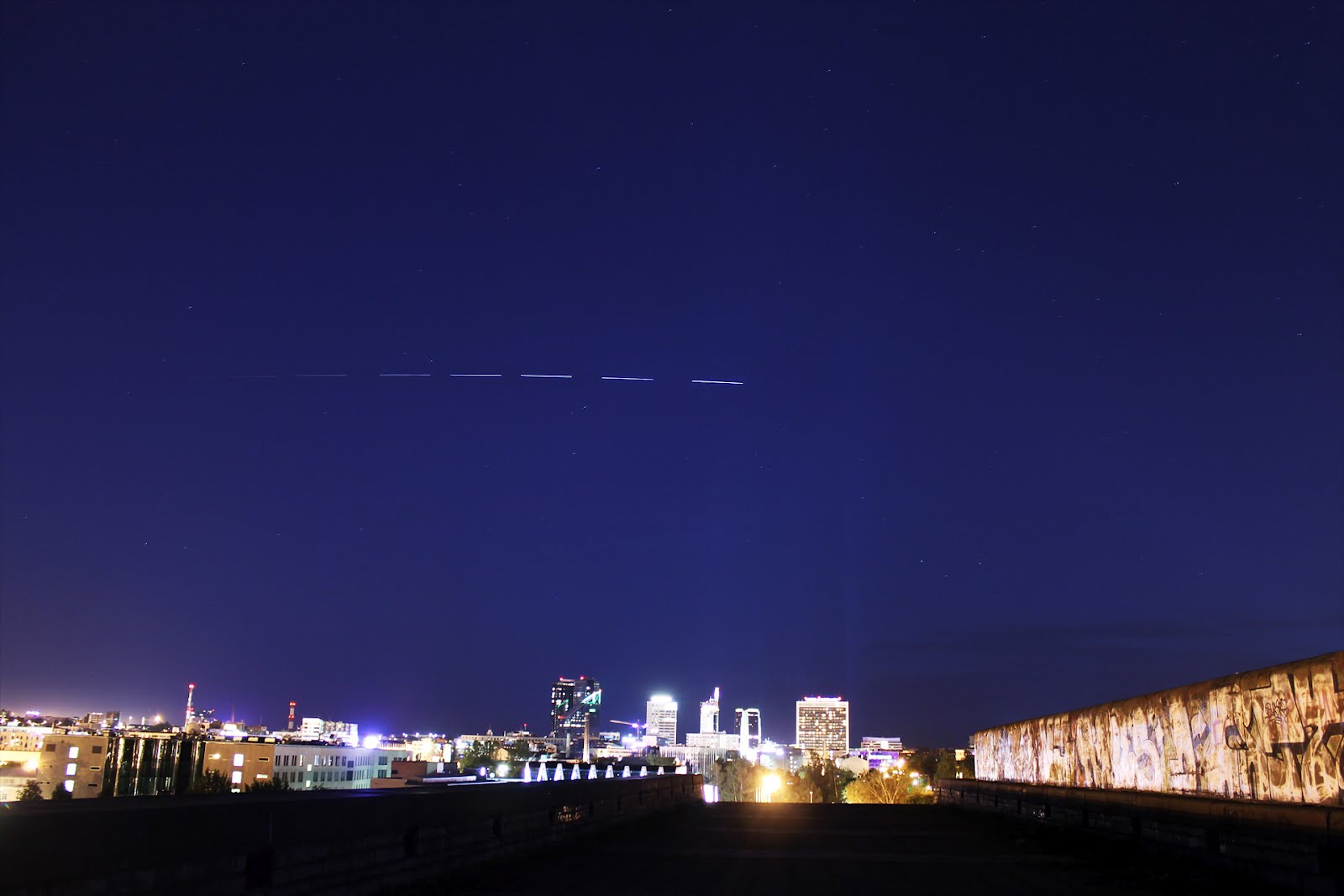 ISS flyby over Tallinn - AstroMadness.com