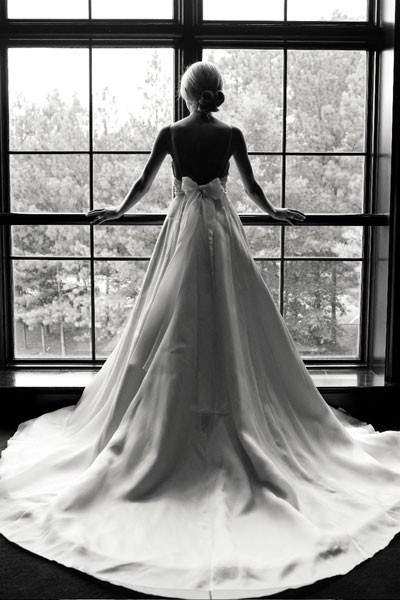 Pretty things wedding wednesday waiting by the window for Black wedding dresses meaning