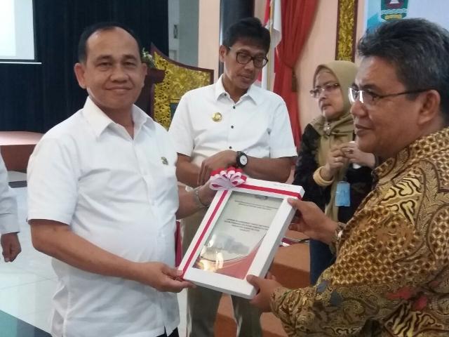 Pemkab Padang Pariaman Berhasil Raih  Maturitas SPIP Level 3