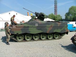 Kendaraan Tempur Infanteri - IFV Marder