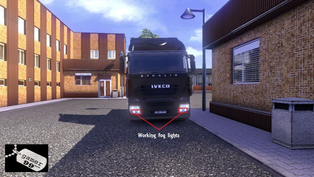 Working Foglights for ETS2 Trucks - Iveco