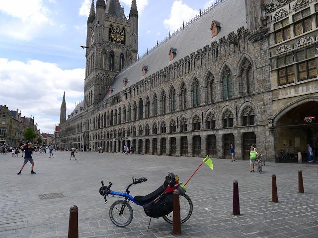 Tour de la Belgique en vélo, Ypres, Leper