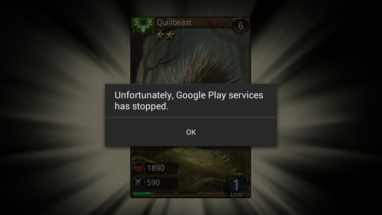 nox google play service has stopped