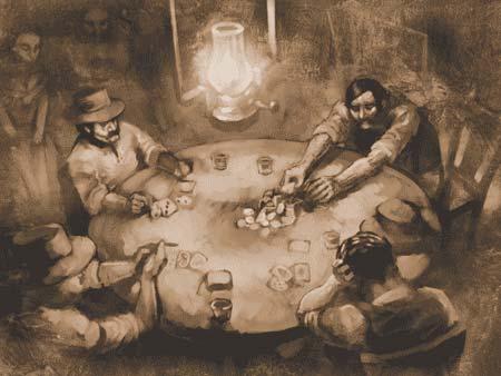 Póker en el Lejano Oeste