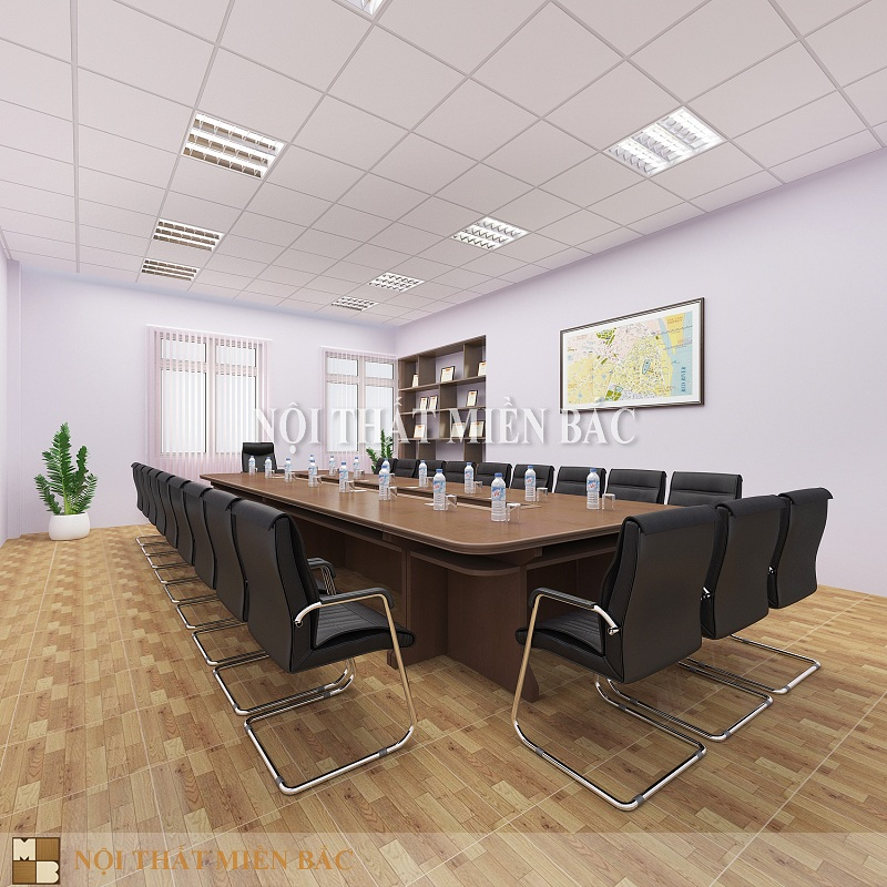Thiết kế nội thất phòng họp đẹp, khoa học