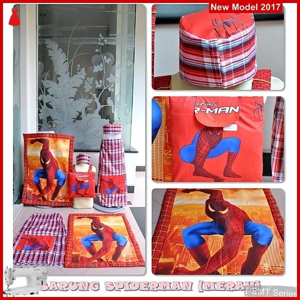 PSMT097A Sarung Anak Spiderman Merah Size S BMG