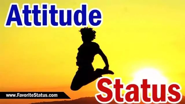 Best Attitude Status Collection in Hindi