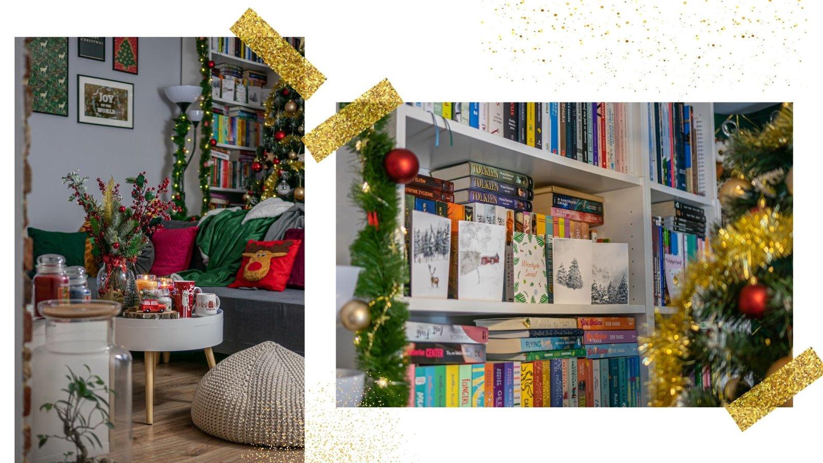 4 butelkowo zielone zasłony w złoty wzór jakość opinie room 99 świąteczne dekoracje kartki pocztówki świąteczne