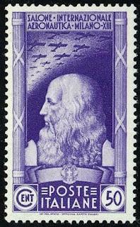 Italy 1935- Leonardo da Vinci