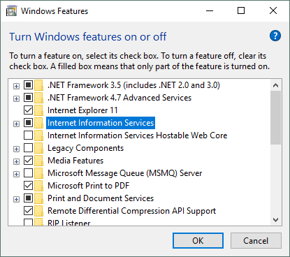 Deploying a Web Application to Local IIS using Visual Studio
