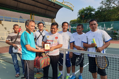 U Malaysia Geujak Lawan Petenis Klub Indomy, Lheuh Keu Pak Amin 7-0