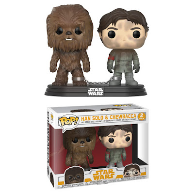 Smuggler's Bounty Exclusive Solo: A Star War Story Han Solo & Chewbacca Pop! 2 Pack by Funko
