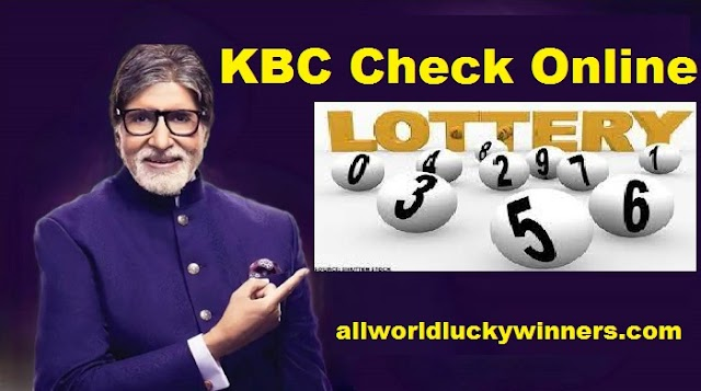 KBC Online Check Lottery